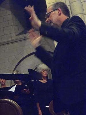 David Acres conducting