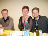Ed Woodhouse, Juliet Curnow, Ted Lougher