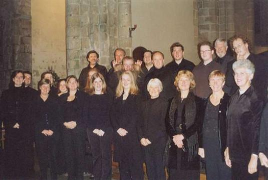 Pre-concert in Locmaria, Brittany