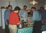 The men's turn to cook, Normandy Tour