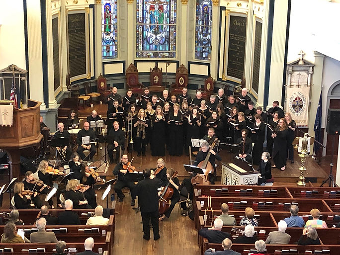 """KCP and The North Carolina Baroque Orchestra performing Handel's """"Israel in Egypt"""" - Charleston, SC, March 2019"""