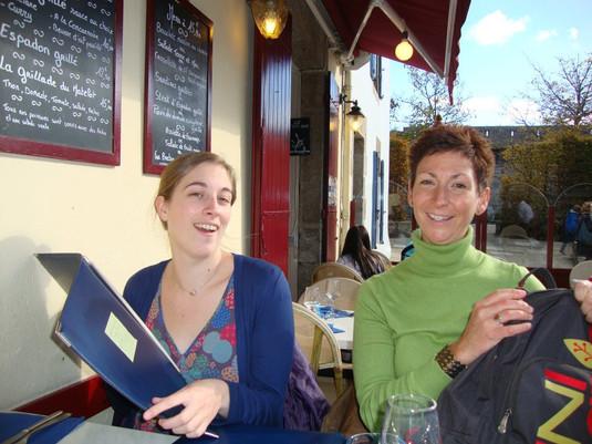 Ann Draisey and Juliet Curnow
