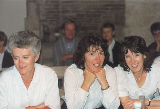 Penny, Evelyn and Klyne (from left to right)