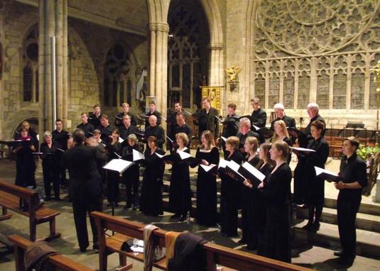 In concert at Pont-l'Abbé