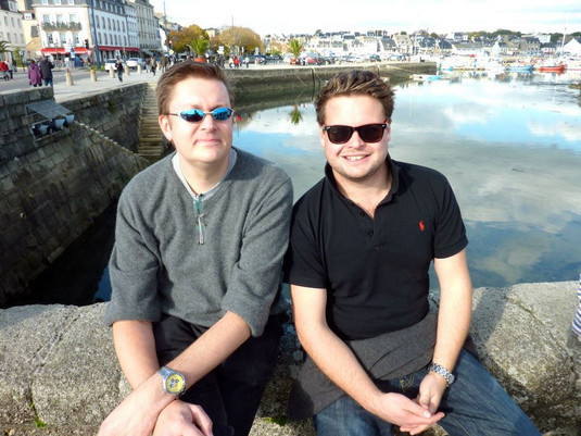 Matt Cann and Ted Lougher