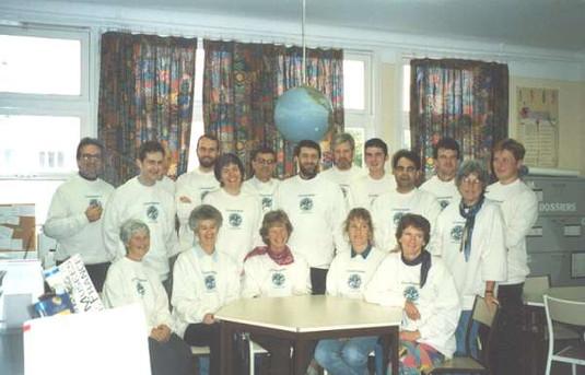 Workshop at a school in Quimper