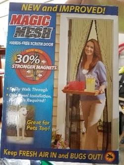 Magic Mesh door screen