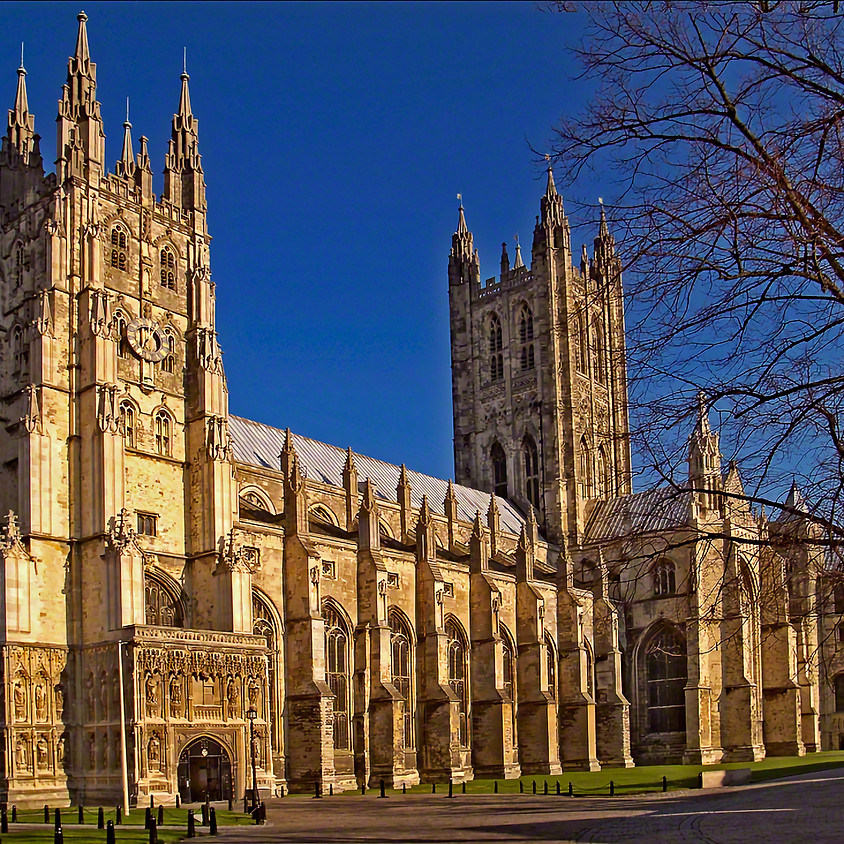 2022 Choral Residency at Canterbury Cathedral, Kent, England (Postponed from 2021)