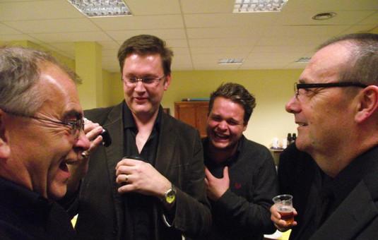 Phil Hobbs, Matt Cann, Ted Lougher, David Acres