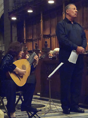 James Bowman and Dorothy Linell (lute)