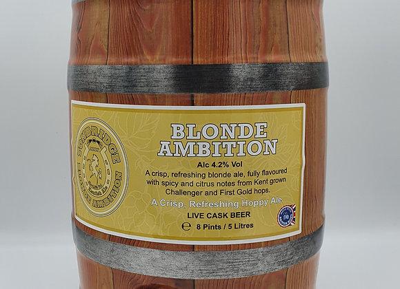 Tonbridge Blonde Ambition Keg