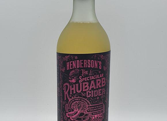 Kent Cider Rhubarb 750ml