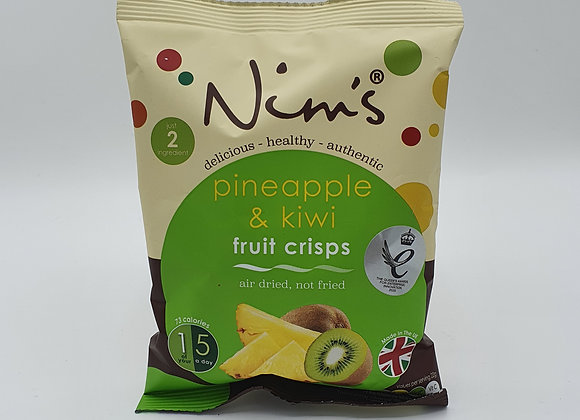 Nims Pineapple & Kiwi Crisps 22g