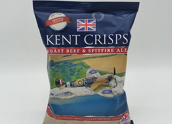 Kent Crisps Roast beef & Ale 40g