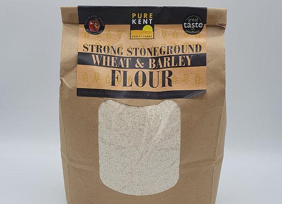 Pure Kent Wheat & Barley Flour