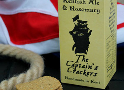 The Captain's Crackers Kentish Ale & Rosemary