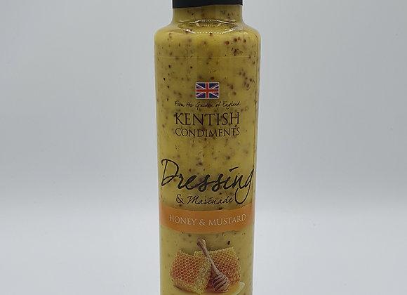 Kentish Condiments Honey & Mustard Dressing 240ml