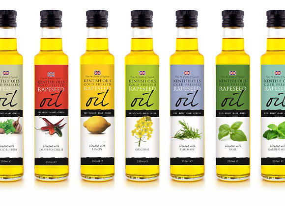 Rapeseed Oil Infused with Basil 250ml