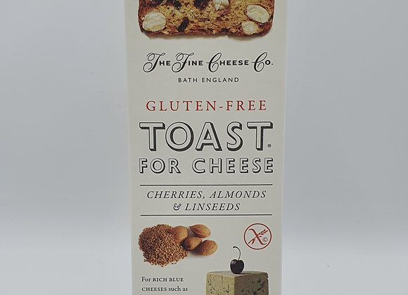 Toast for Cheese-Cherries, Almonds & Linseed