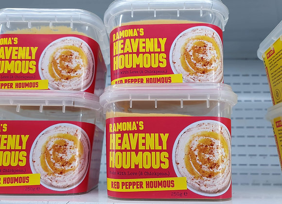 Ramona's Heavenly Houmous Red Pepper