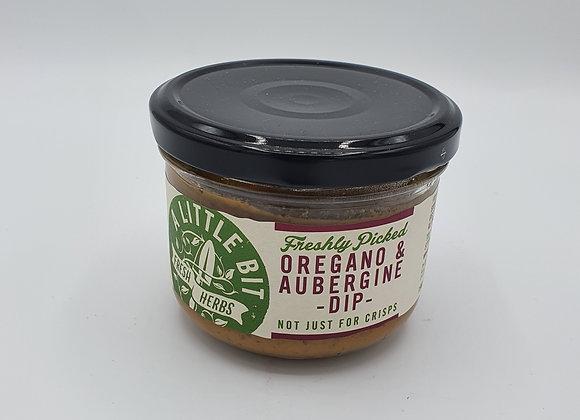 A Little Bit Oregano & Aubergine Dip 200g