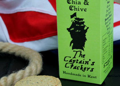 The Captain Crackers Chia & Chive