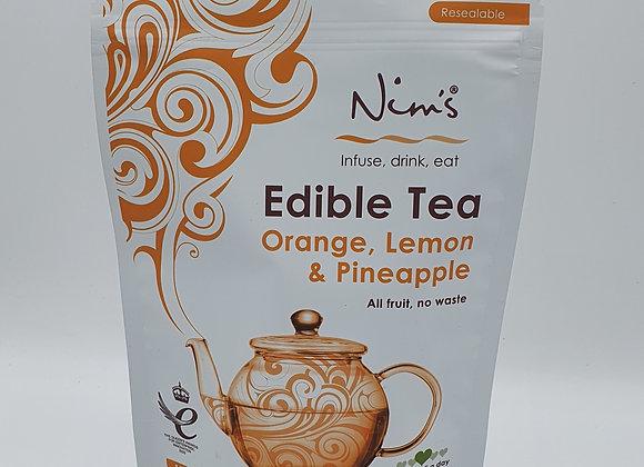 Nims Edible Tea Orange, Lemon & Pineapple 150g