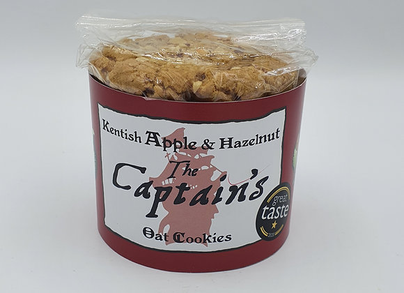 Captain's Apple & Hazelnut Cookies 240g