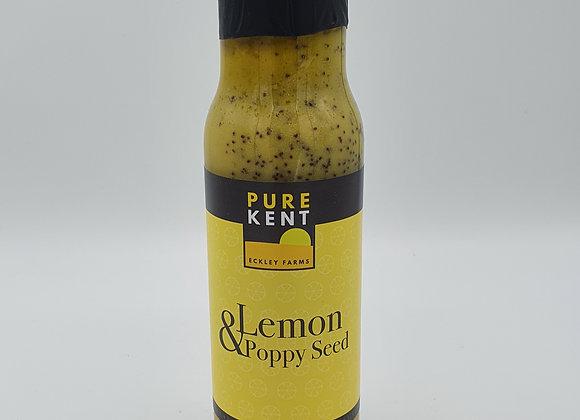 Pure Kent Lemon & Poppy Seed Dressing 220ml