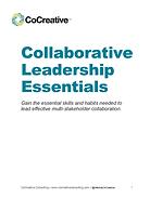 Collaborative Leadership Essentials Manu