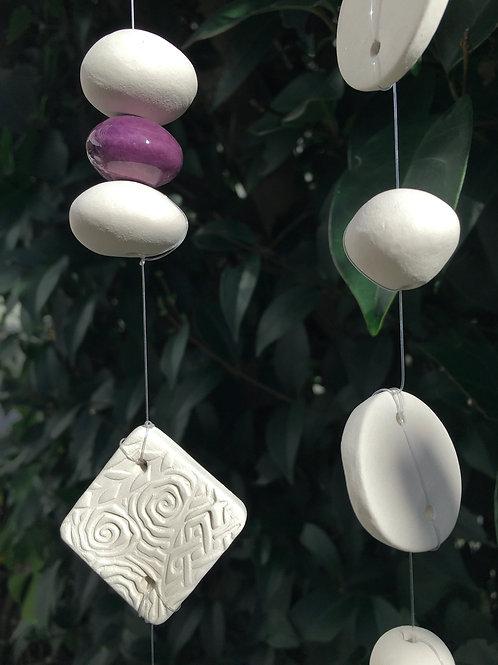 Carillon perle violette