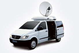 DSN VANS With SATELLITE UPLINK