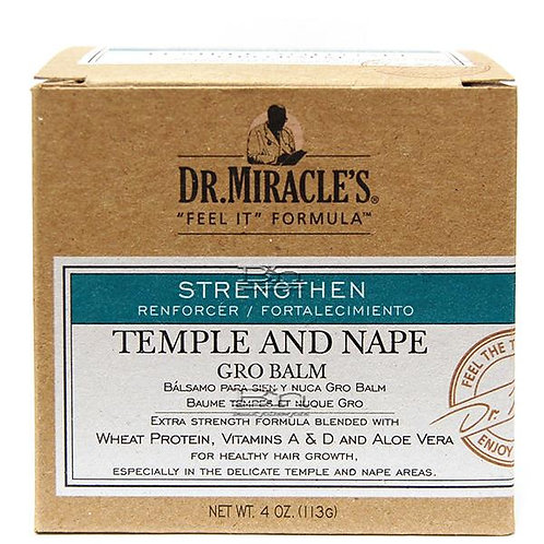 DR. Miracle's Temple & Nape Gro Balm - Regular Strength