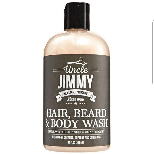 Uncle Jimmy Hair Beard Body Wash