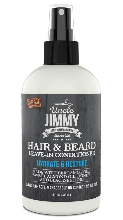 Uncle Jimmy Hair & Beard Leave-In Conditioner