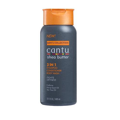 Cantu Men 3in1 Shamp/Cond/Wash