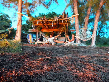 Tiki Hut at Touch of Class.