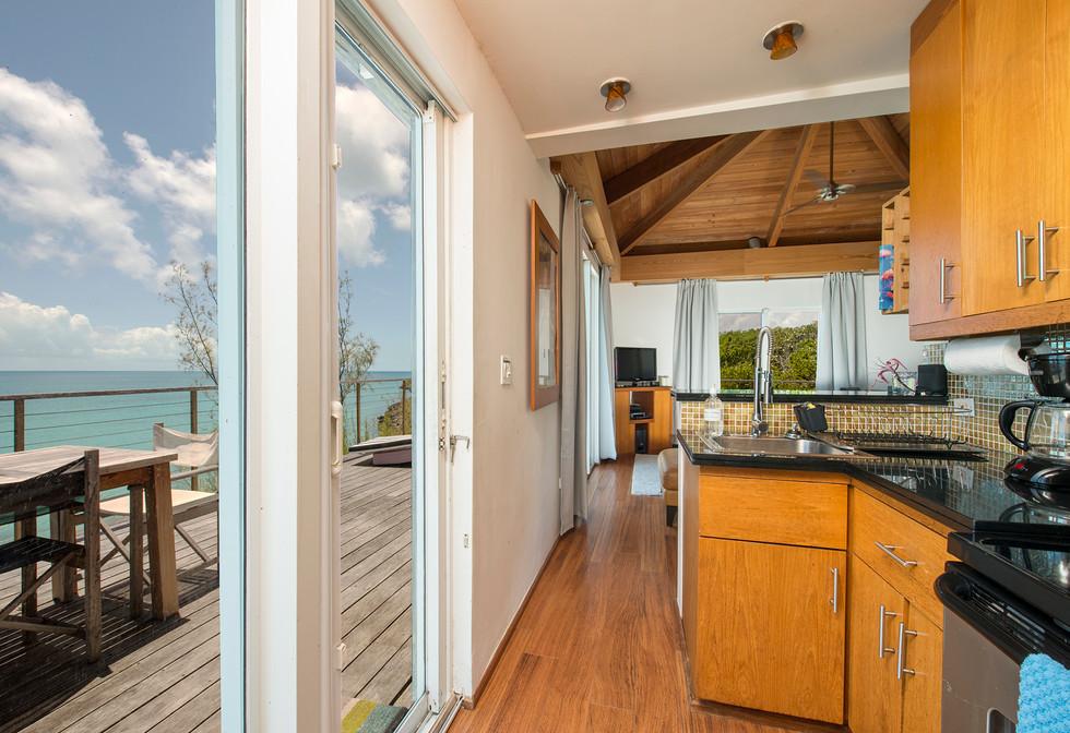 Custom Kitchen & Living Room