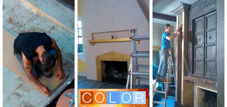 Working on HGTV's Color Splash Miami