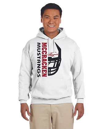 Mustang Football Hooded Sweatshrt