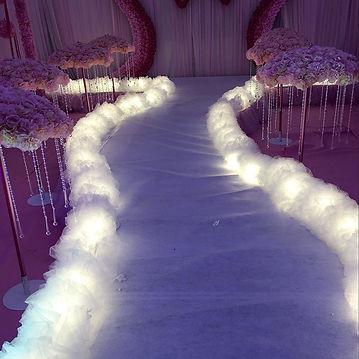 2018-new-wedding-road-lead-T-stage-decor