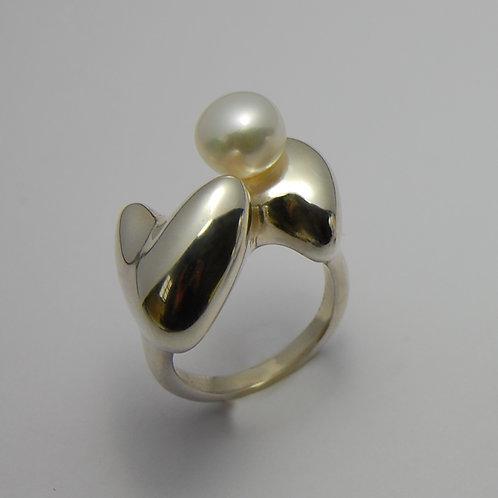 bague DANA perle