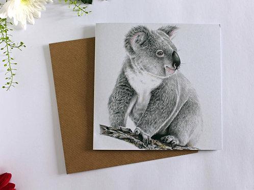 Koala Charity Greeting Card