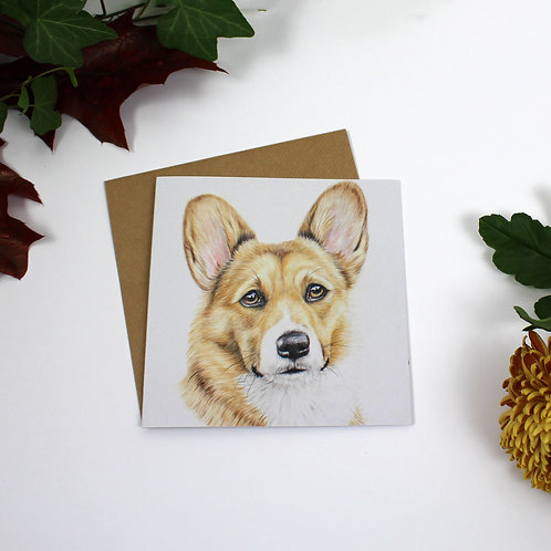 Koda Greeting Card