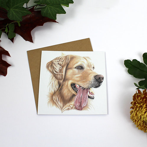 Sandy Greeting Card