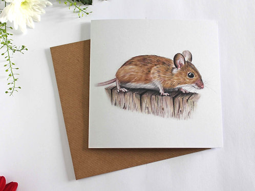 Mr. Whiskers Greeting Card