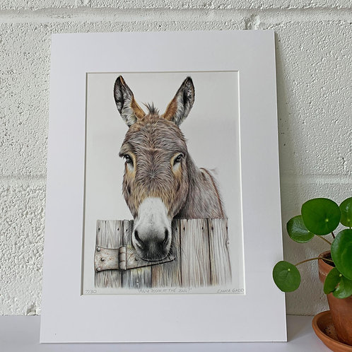 Any Room at the Inn? Limited Edition Print