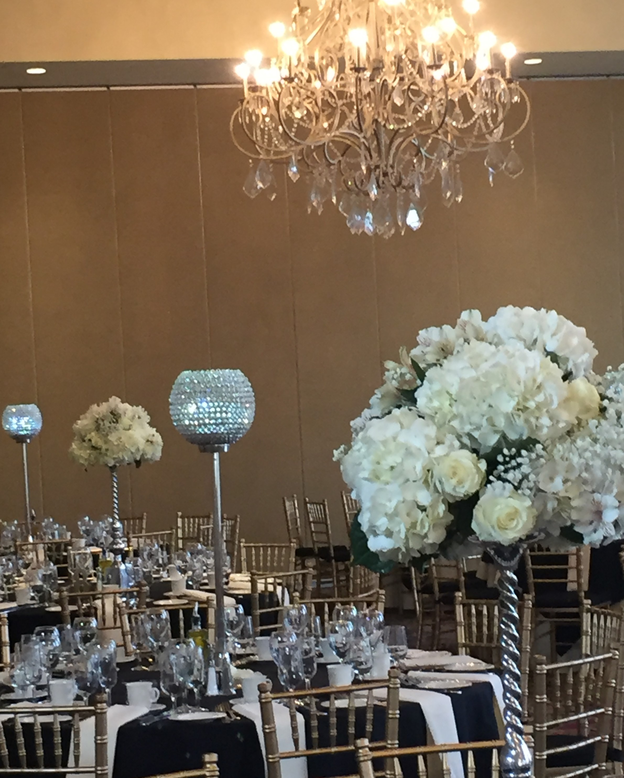 Wedding Crystal Centerpiece