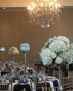 Wedding Crystal Centerpiece