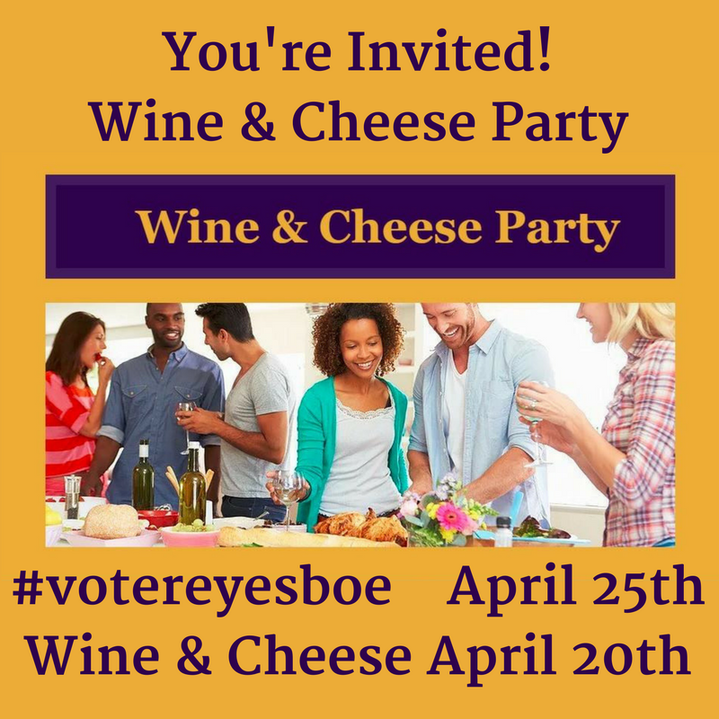 Wine and cheese invite
